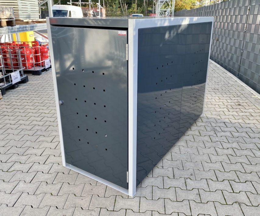 1er Fahrradbox Flachdach