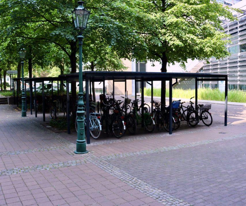 Fahrradüberdachungen ohne Wände