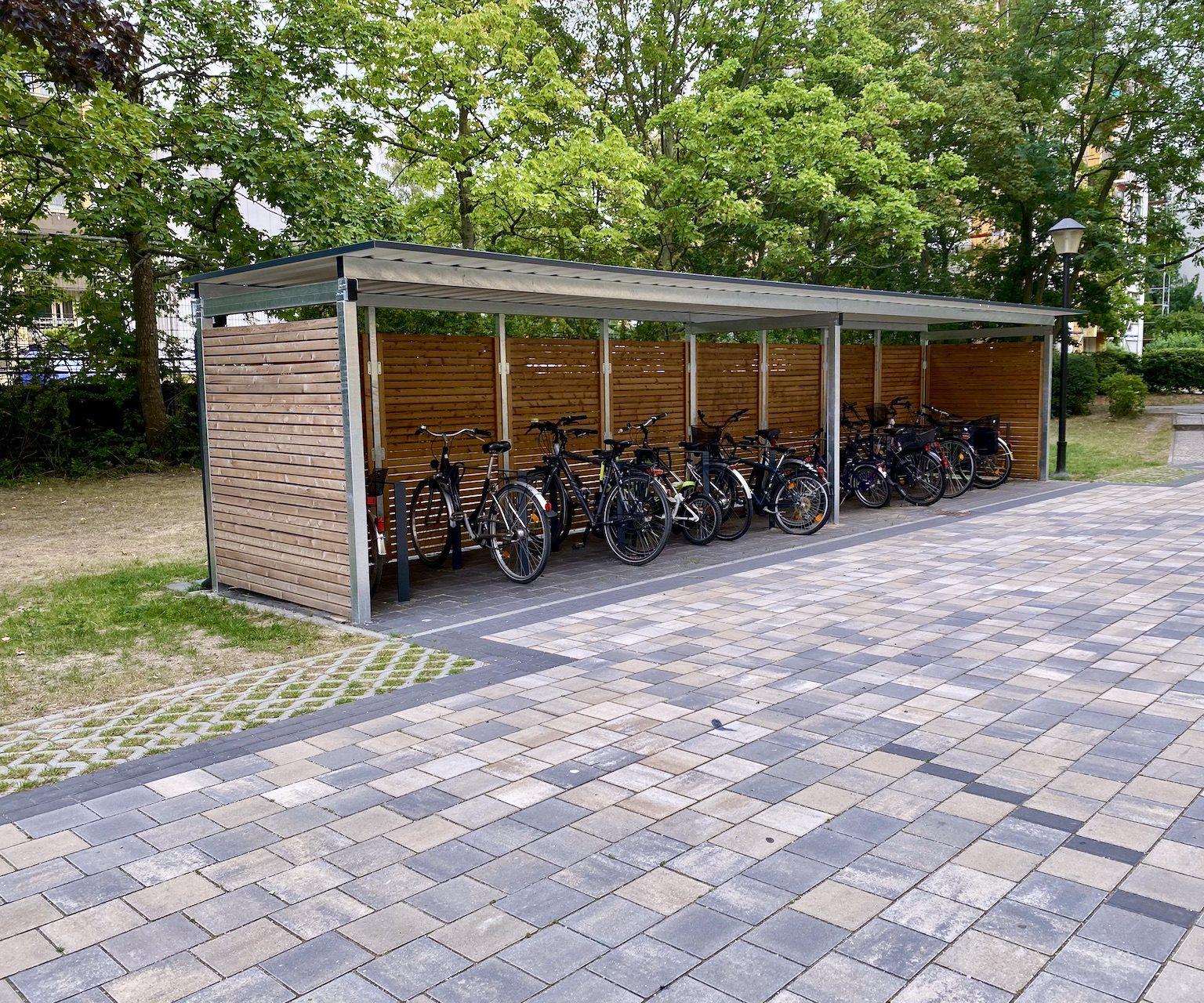 Fahrradüberdachungen