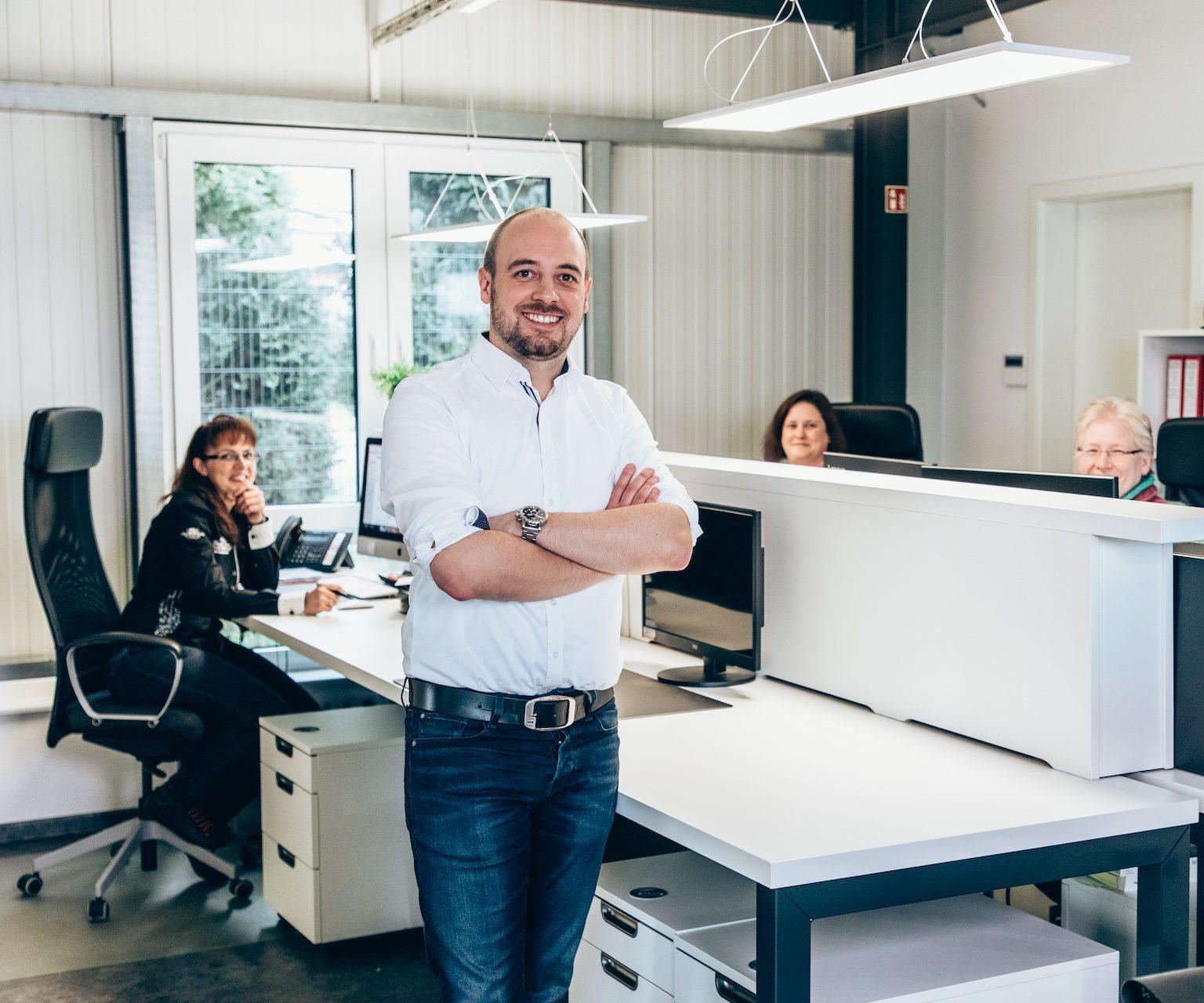 Lieken Metall Design – Büroteam