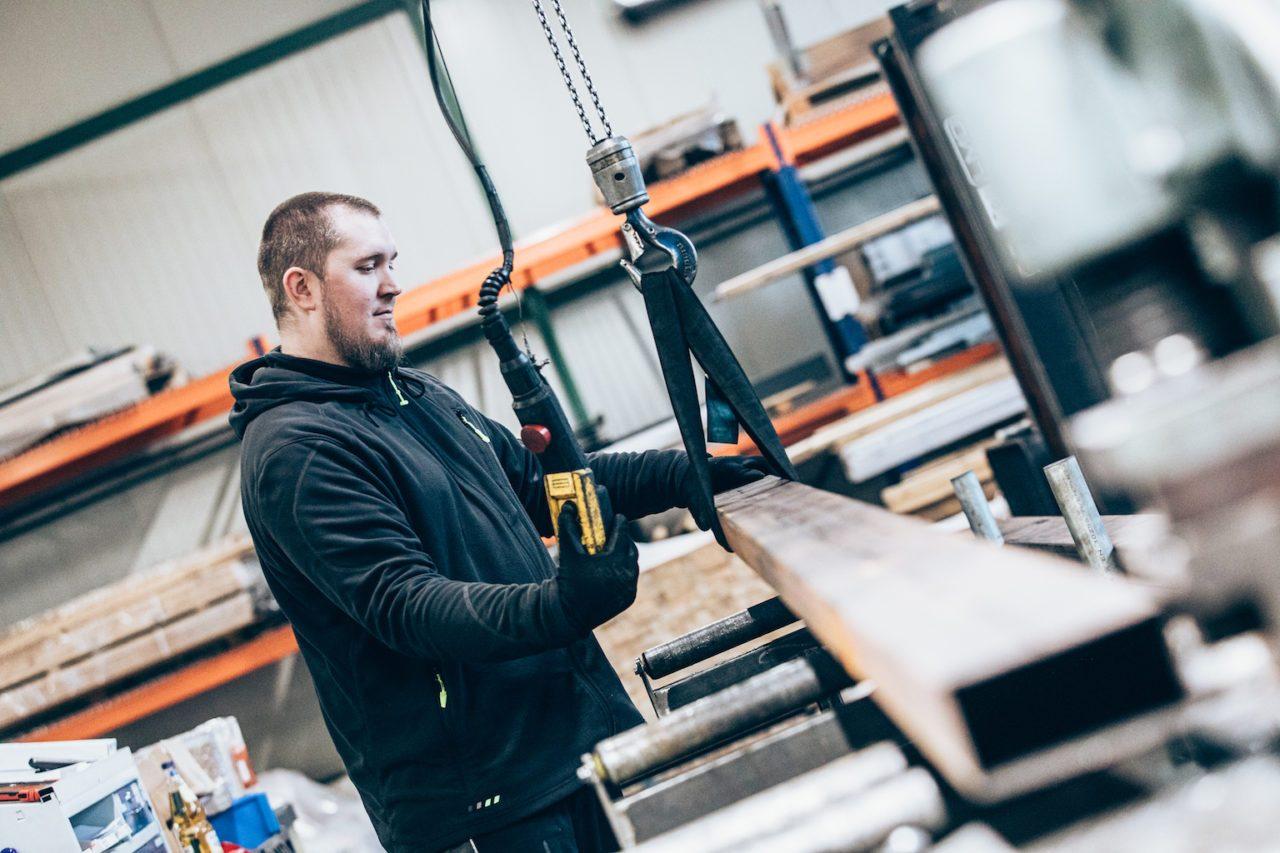 Lieken Metall Design – Produktion 12