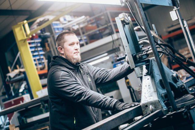 Lieken Metall Design – Produktion 03