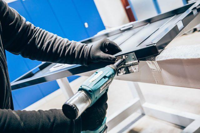 Lieken Metall Design – Produktion 22