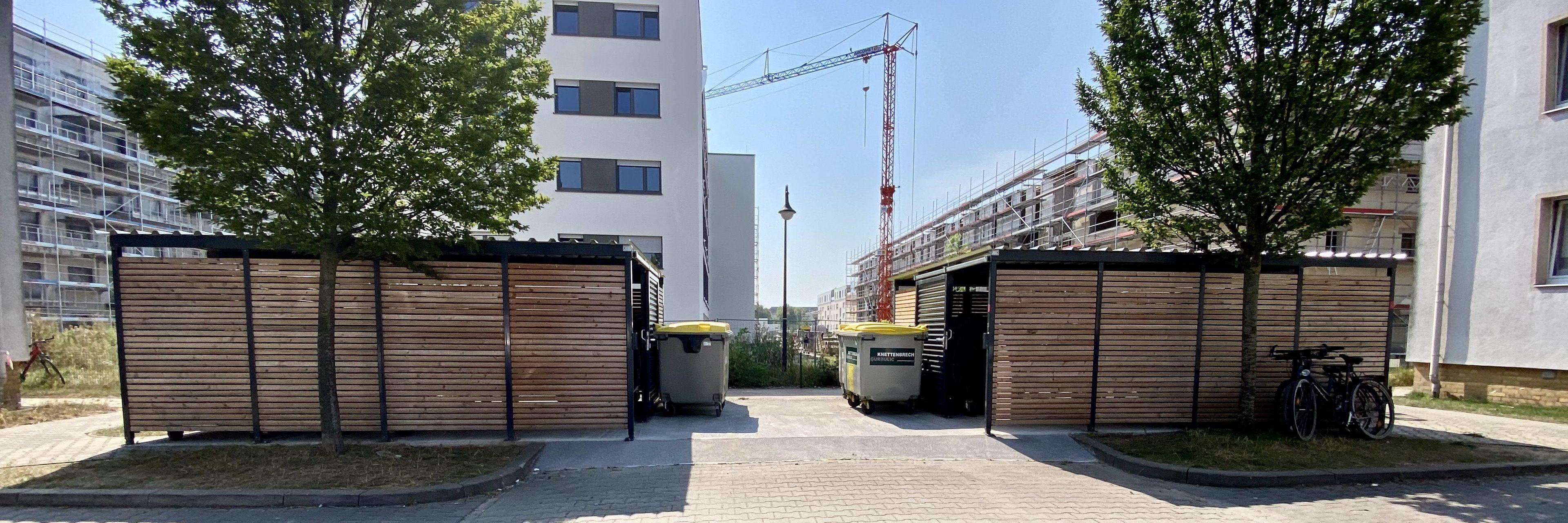 Mülltonnenhäuser